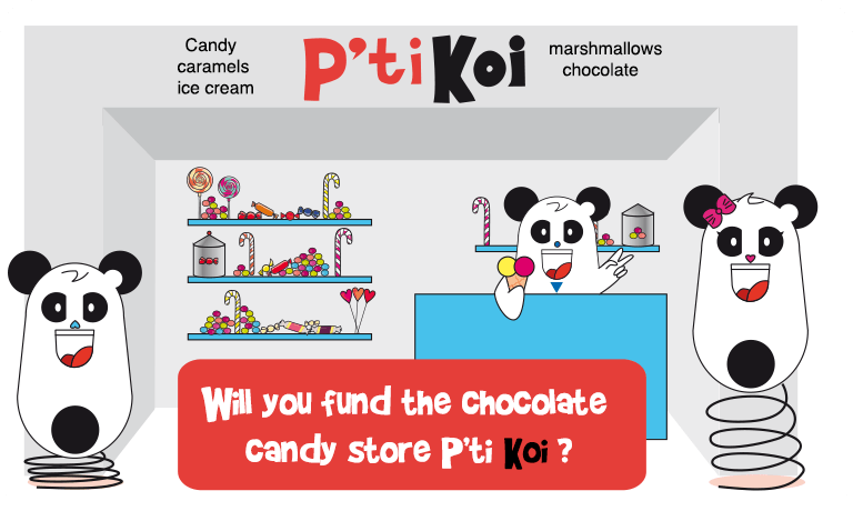 Will you fund the chocolate candy store ?